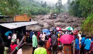 Donation to Bududa Landslide Victims 2010